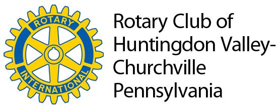 Rotary Club of Huntingdon Valley-Churchville Pennsylvania